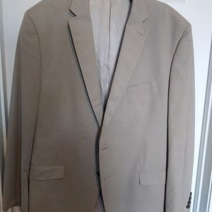 Faux suede sport jacket.